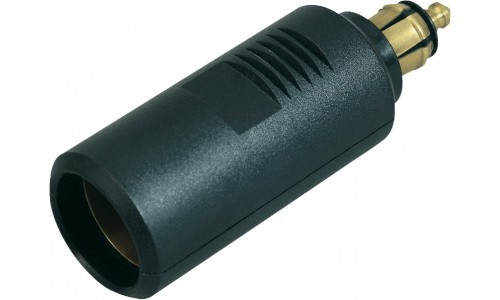 DIN Socket to Cigarette Socket Tube Adapter