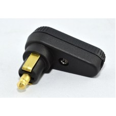 12v Standard DIN Right Angled Accessory Plug