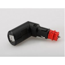 Cigarette - DIN Plug With Twin 2.1 amp USB Charger from SW-Motech