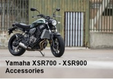 Yamaha XSR700 - XSR900 Accessories