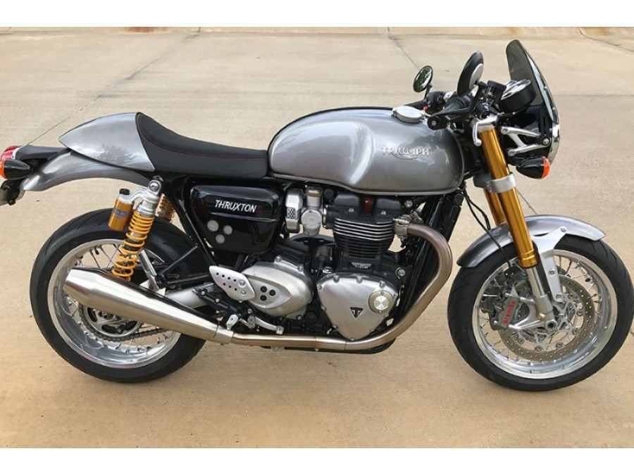 triumph thruxton 1200 r 16 classic flyscreen from dart. Black Bedroom Furniture Sets. Home Design Ideas