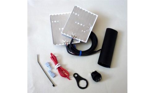 Heat Demon from Symtec Heated Grip Kit - Round Rocker Switch