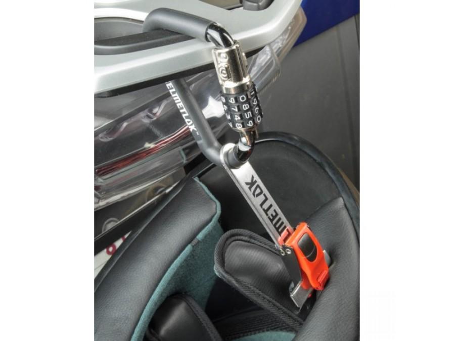 Helmetlok With Cable Motorcycle Helmet Lock