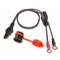 Optimate O1 Weatherproof SAE / Eyelet Battery Lead