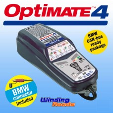 Optimate 4 BMW Canbus Motorcycle Smart Battery Charger