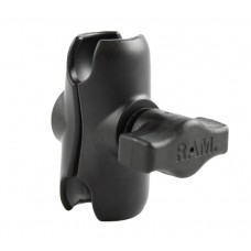 "RAM Double Socket Short Arm for 1"" Ball"