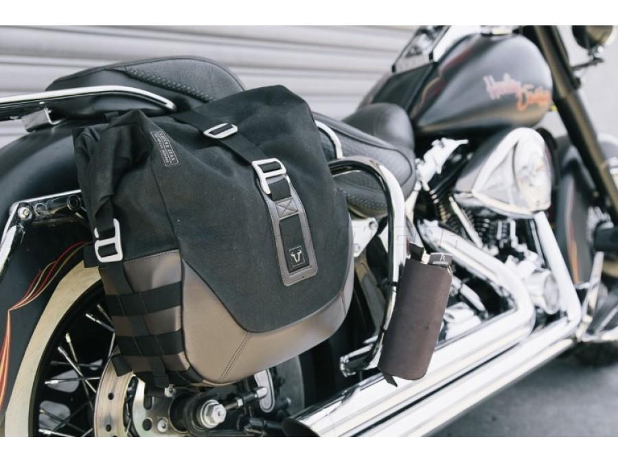 legend gear pannier sets for harley davidson motorcycles. Black Bedroom Furniture Sets. Home Design Ideas