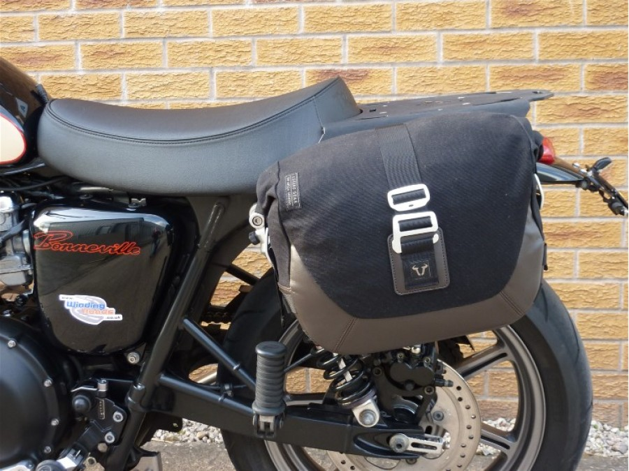 Legend Gear Single Side Pannier Set For Triumph Scrambler
