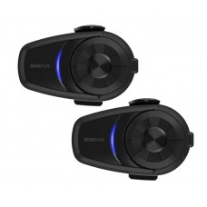 Sena 10S Motorcycle Bluetooth Communication System (Twin Pack)