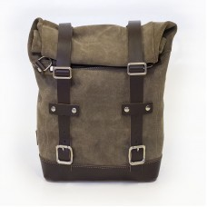 Waxed Suede Pannier from Unit Garage