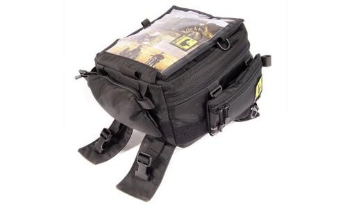 Wolfman Rainier Tank Bag - WITH FREE RAIN COVER